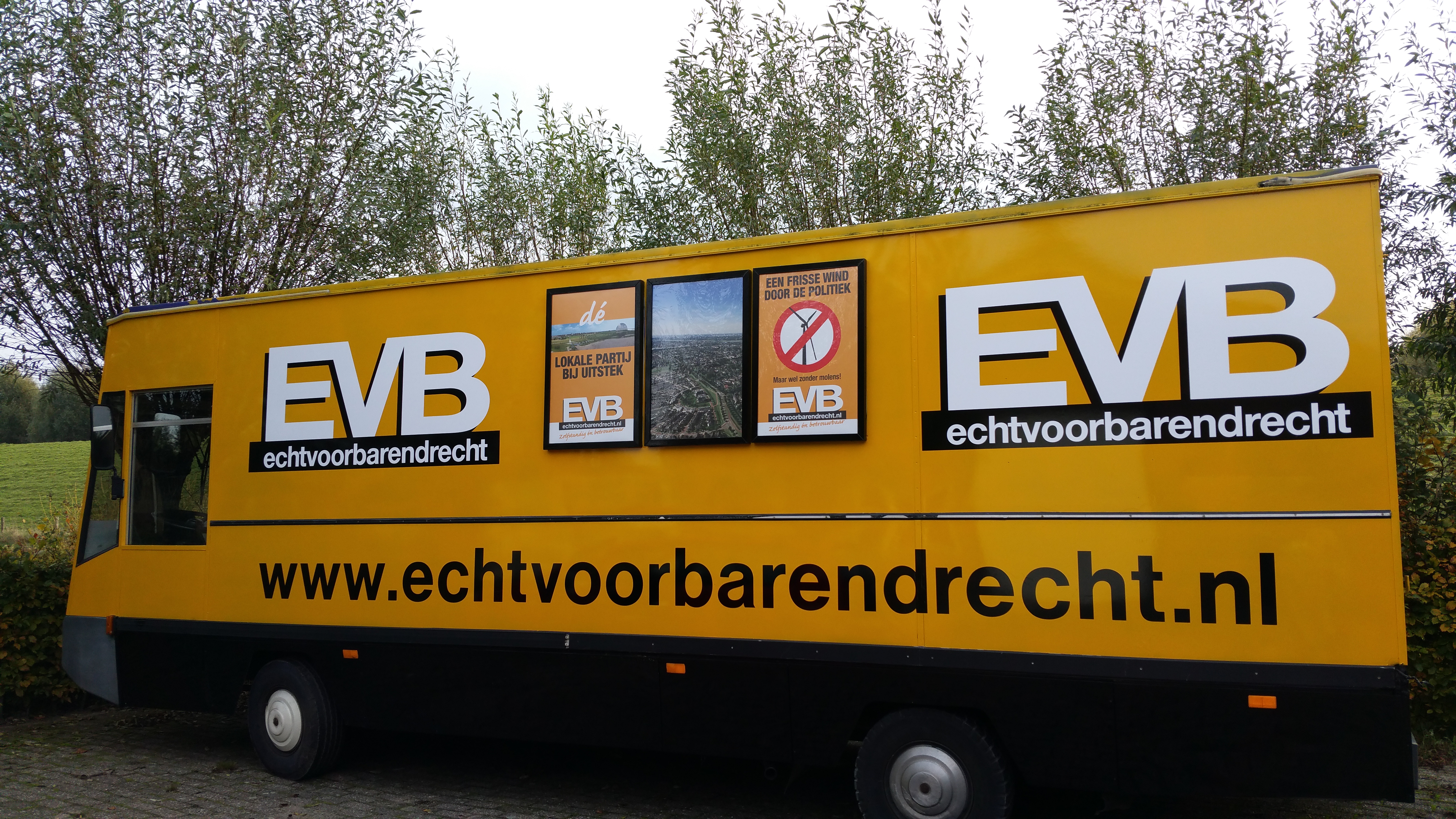 Campagnewagen Echt voor Barendrecht