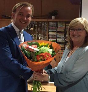 Lijsttrekker Lennart van der Linden